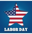 Labor Day Emblem vector image vector image
