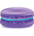 Macaroon on a white background object vector image vector image