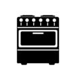 Stove icon Flat design