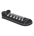 young shoes isolated icon vector image vector image