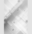abstract geometric shapes on gray background vector image