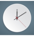 Clock face Set up your time vector image vector image