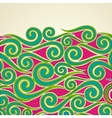 Colorful Swirls vector image vector image