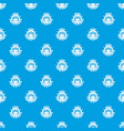 print photo studio pattern seamless blue vector image vector image