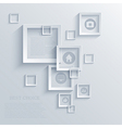square background Eps10 vector image vector image
