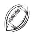 american football logo icon vector image