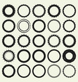 circle frame set vector image