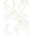 abstract city map with small pointers vector image vector image