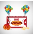 Circus and carnival design vector image vector image