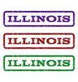 illinois watermark stamp vector image