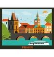 Pragua city vector image vector image