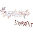 the equipment that improves your personal life vector image vector image