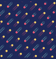 abstract retro vintage line pattern background vector image vector image
