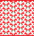 background pattern with reindeer mask vector image vector image