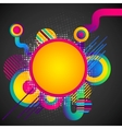 Colorful Circular Background vector image vector image