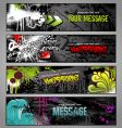Graffiti banners vector | Price: 3 Credits (USD $3)