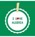 I lOVE ALGERIA4 vector image