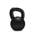 kettlebell vector image vector image