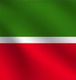 Tatarstan flag vector image vector image