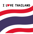 I love Thailand17 vector image vector image