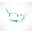 Mouse icon vector image vector image