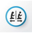 people icon symbol premium quality isolated vector image