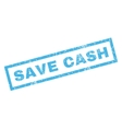 Save Cash Rubber Stamp vector image vector image