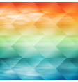 sea sunset tropical geometric background vector image vector image