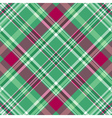 Seamless green-purple checkered pattern vector image vector image