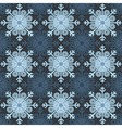 Seamless Snowflake vector image vector image
