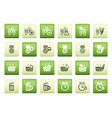 24 business office and website icons vector image vector image