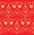 abstract red and gold pattern vector image