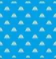 Artist tool pattern seamless blue