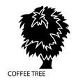 coffee tree icon simple style vector image vector image
