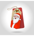 cute christmas gift tags with blue eyed vector image
