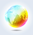 Earth rainbow icon