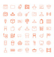 empty icons vector image vector image