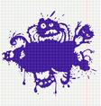 ink monsters vector image
