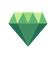Polygonal Icon with geometrical figures vector image vector image