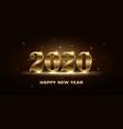 banner winter holiday happy xmas new year vector image vector image