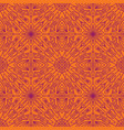 geometric symmetrical seamless pattern vector image