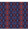 Knitted seamless background in Fair Isle style vector image vector image