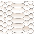 Snake skin texture Seamless pattern white vector image vector image