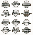 spanish retro sale labels vector image vector image