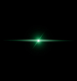 Abstract GREEN beam Light vector image vector image