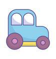 bashower toy plastic car icon vector image vector image