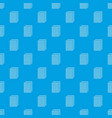 Biscuit ice cream pattern seamless blue