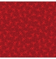 Burgundy background with red stars vector image
