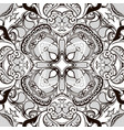 intricate baroque seamless pattern greek vector image vector image