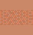 orange roof tiles vector image